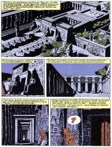 Extrait de Papyrus -6b- Les quatre doigts du dieu lune