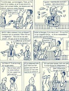 Extrait de Tintin - Pastiches, parodies & pirates -PIR- Tintin contre Kuifje