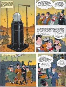 Extrait de Les incontournables de la littérature en BD -27- De la Terre à la Lune