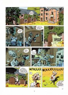 Extrait de Spirou et Fantasio -51TL1- Alerte aux Zorkons