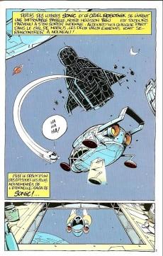 Extrait de Sonic Adventures -1- Dans les griffes de Robotnik