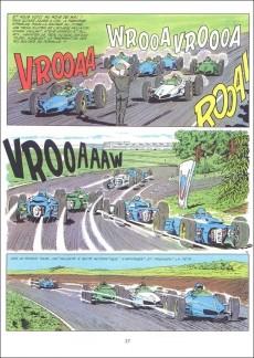 Extrait de Michel Vaillant -10e1983- L'honneur du Samouraï
