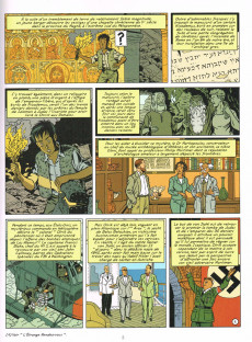 Extrait de Blake et Mortimer (Les Aventures de) -20- La Malédiction des trente deniers - Tome 2