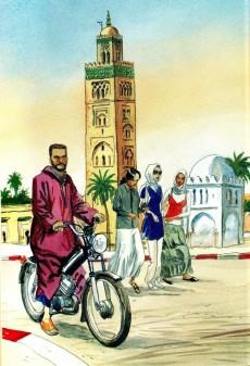 Extrait de (AUT) Ferrandez -10- Marrakech - Itinéraires