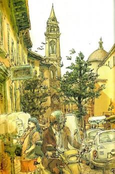 Extrait de (AUT) De Crécy -6- Florence - Itinéraires