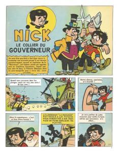 Extrait de Nick et Panchito -3- Le Collier du gouverneur