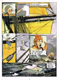 Extrait de Les passagers du vent -1d1986- La fille sous la dunette