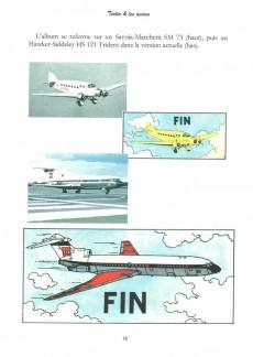 Extrait de Tintin - Pastiches, parodies & pirates -PIR- Tintin & les avions