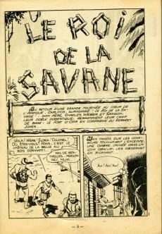 Extrait de Whipii ! (Panter Black, Whipee ! puis) -24- Le roi de la savane
