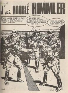 Extrait de Z33 agent secret -3- J'ai doublé Himmler
