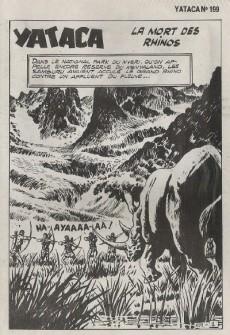 Extrait de Yataca (Fils-du-Soleil) -199- La mort des rhinos