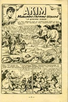Extrait de Akim (1re série) -217- Matumbo, l'homme-léopard