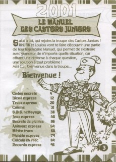 Extrait de Picsou Magazine -HS1- Le manuel des castors juniors 2001