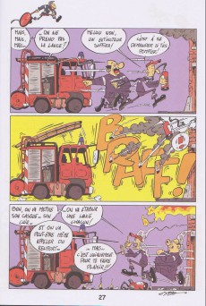 Extrait de Sapeur et sans reproche -3- L'agent extincteur !