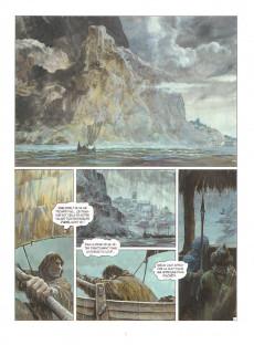 Extrait de Thorgal -32- La Bataille d'Asgard