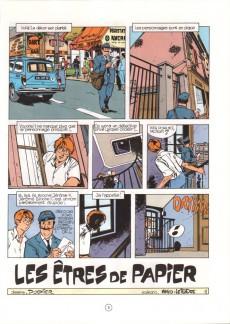 Extrait de Jérôme K. Jérôme Bloche -2b1990- Les êtres de papier