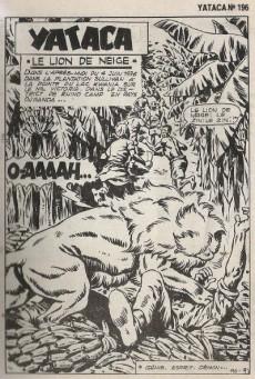 Extrait de Yataca (Fils-du-Soleil) -196- Le lion de neige