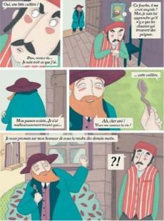 Extrait de Contes du monde en bandes dessinées - Contes yiddish en bandes dessinées