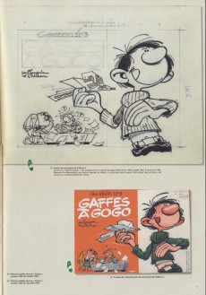 Extrait de Gaston (L'intégrale Version Originale) -8- Gaston 1957-1966 - Fac-similé d'originaux