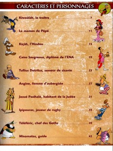 Extrait de Astérix (Collection Atlas - Statuettes) -7- La Gaule et l'Empire Romain avec Astérix