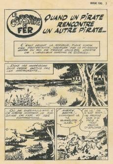 Extrait de Brik (Mon journal) -195- Quand un pirate rencontre un autre pirate...