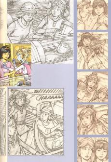 Extrait de Yoko Tsuno -25TL- La servante de Lucifer - Esquisses d'une œuvre