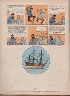 Extrait de Tintin (Historique) -11B11- Le Secret de la Licorne