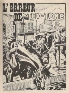 Extrait de Tex-Tone -334- L'erreur de Tex-Tone