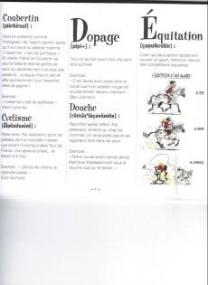 Extrait de Illustré (Le Petit) (La Sirène / Soleil Productions / Elcy) - Le Petit Sportif illustré de A à Z