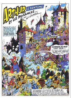 Extrait de Arthur le fantôme justicier (Cézard, Éditions du Taupinambour) -5- Les martiens