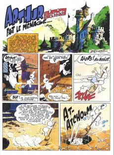 Extrait de Arthur le fantôme justicier (Cézard, Éditions du Taupinambour) -6- Mission impossible