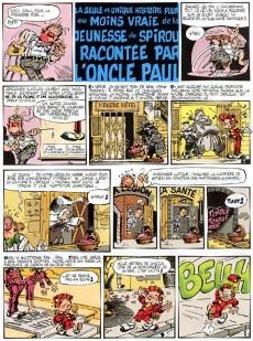 Extrait de Spirou et Fantasio -38Ind2011- La Jeunesse de Spirou