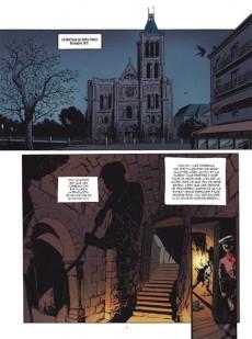 Extrait de Là où vivent les morts -1- la cité du sang