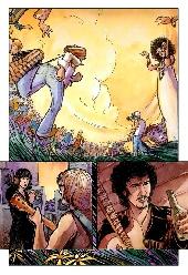 Extrait de Rolling Stones en bandes dessinées (The) - The Rolling Stones en bandes dessinées