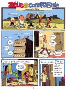 Extrait de Zélie et Compagnie (2e série) -5- La nouvelle Zélie