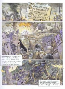 Extrait de Les sentinelles (Breccia/Dorison) -3- Chapitre troisième : Avril 1915 Ypres