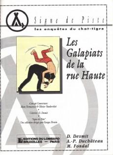 Extrait de Les enquêtes du Chat-Tigre -1- Les galapiats de la rue Haute