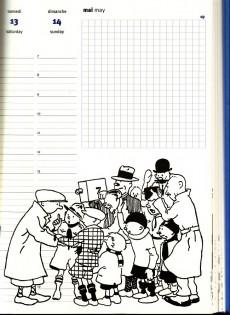 Extrait de Tintin - Divers - Agenda tintin 2000
