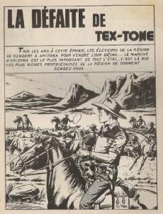Extrait de Tex-Tone -335- La défaite deTex-Tone