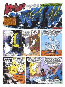 Extrait de Arthur le fantôme justicier (Cézard, Éditions du Taupinambour) -4- Une histoire de la préhistoire