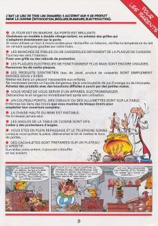 Extrait de Astérix (Publicitaire) -Giph01- La chasse aux dangers dans la maison