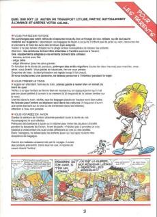 Extrait de Astérix (Publicitaire) -Giph03- La chasse aux dangers en vacances d'été