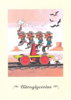 Extrait de Lucky Luke - Les Dessous d'une création (Atlas) -18- Nitroglycérine / Le Ranch Maudit
