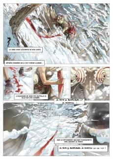 Extrait de Maskemane -1- Du sang dans la neige...