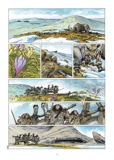 Extrait de Neandertal -3- Le Meneur de meute
