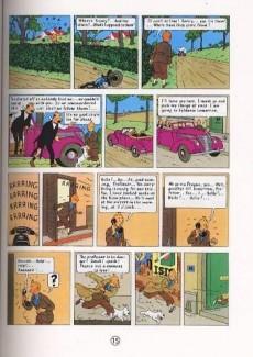 Extrait de Tintin (The Adventures of) -8- King Ottokar's Sceptre