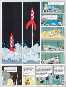 Extrait de Tintin (The Adventures of) -16d2002- Destination Moon