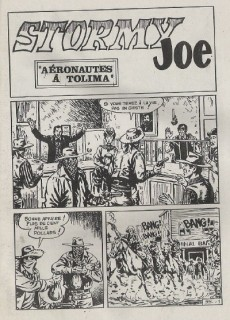 Extrait de Whipii ! (Panter Black, Whipee ! puis) -95- Stormy Joe - Aéronautes à Tolima