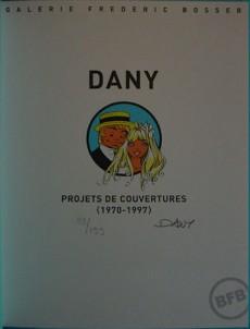 Extrait de (AUT) Dany -1- Dany - Projets de couverture (1970-1997)