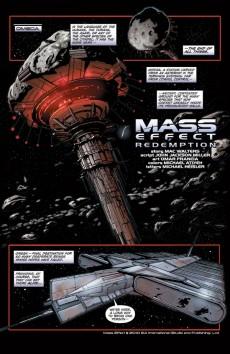 Extrait de Mass Effect: Redemption (2010) -1- Redemption #1